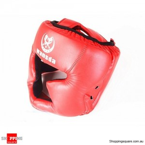 Boxing Helmet Headgear for Head Pretection/Training Red Colour