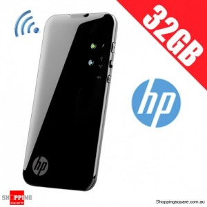 HP Wireless Pocket Playlist 32GB Hard Drive WiFi H4D65AA