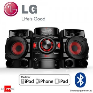 LG CM4340P HiFi System with Speaker Bluetooth for iPhone iPod