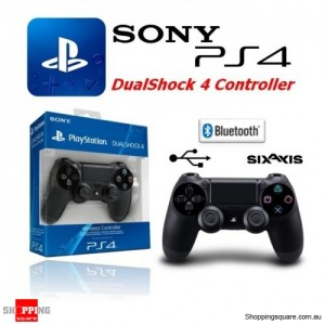 SONY Genuine Playstation 4 DualShock 4 Controller PS4 - Black