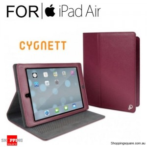 Cygnett Archive Classic Folio Case Burgundy Colour for iPad Air