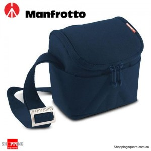Manfrotto Amica 30 Shoulder Camera Bag for DSLR Stile Blue Colour