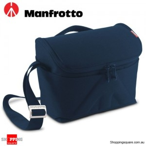 Manfrotto Amica 50 Shoulder Camera Bag for DSLR Lens Flash Blue Colour