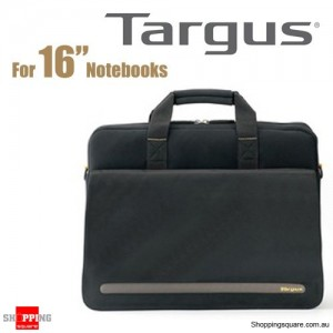 Targus CityGear Slimlite 16-inch Laptop Case Black Colour