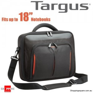 Targus 17-18.2 inch Classic+ Clamshell Case with File Section Black Colour