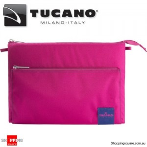 Tucano Lampo Computer Bag for 13 Inch MacBook Pro/Ultrabook and iPad Pro Pink Colour