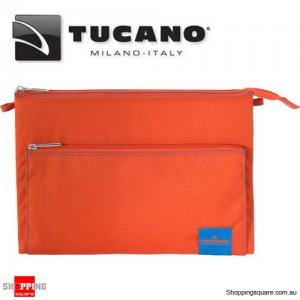 Tucano Lampo Computer Bag 13 Inch MacBook Pro/Ultrabook and iPad Pro Orange Colour