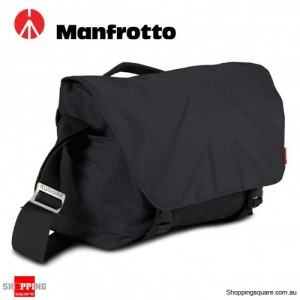 Manfrotto Allegra 30 Shoulder Messenger Bag for DSLR Camera Laptop Stile Black Colour