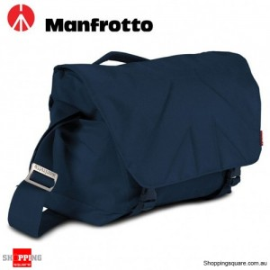 Manfrotto Allegra 30 Shoulder Messenger Bag for DSLR Camera Laptop Stile Blue Colour