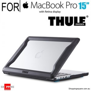Thule Vectros Protective Bumper Case Black Colour for Macbook Pro 15-inch with Retina Display
