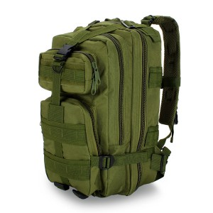 Outdoor Military Tactical Rucksack Hiking Trekking Camping Backpack Green Colour