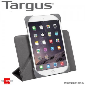 Targus Fit N' Grip Universal 360° Rotational Case Black Colour for 7-8Inch Tablets