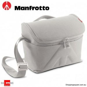 Manfrotto Amica 50 Shoulder Camera Bag for DSLR Lens Flash White Colour