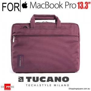 Tucano Work Out Notebook Slim Case Purple Colour for 13.3-inch Macbook Pro