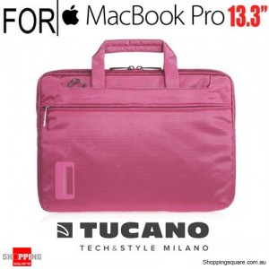 Tucano Work Out Slim Case Fucsia Colour for 13.3-inch Macbook Pro