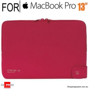 Tucano Second skin Charge Up Red for Macbook Pro 13 Inch & Macbook Air 13 Inch