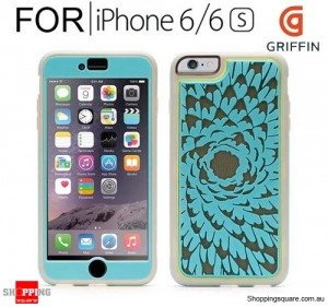 Griffin Identity Performance Case Flower Floral Pattern for iPhone 6/6s