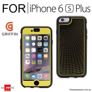 Griffin Radiant Identity Performance Case Black/Yellow for iPhone 6 Plus/6s Plus