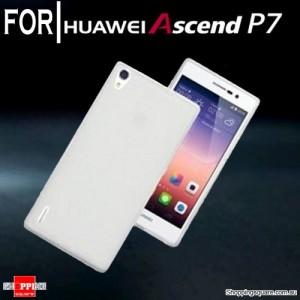 Huawei Ascend P7 Case White Translucent Matte Colour