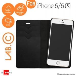 Lab C Smart Wallet Case Black Colour for iPhone 6/6S