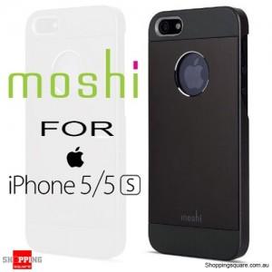 Moshi iGlaze Armour Premium Aluminum Case Black Colour for iPhone 5/5s