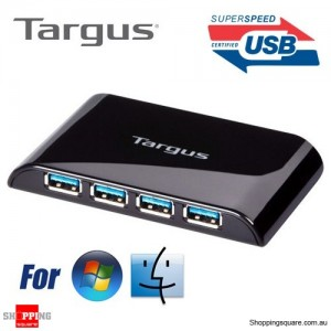 Targus 4-Port USB 3.0 Superspeed (TM) Hub