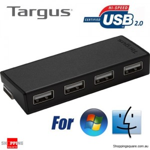 Targus 4-Port HUB Splitter for Notebook Desktop Computer