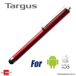 Targus Stylus for Iphone/Ipad/Tablet/Android Smartphone Red Colour