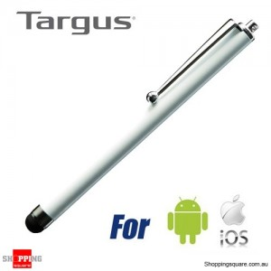 Targus Stylus for Iphone/Ipad/Tablet/Android Smartphone White Colour