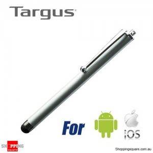 Targus Stylus for Iphone/Ipad/Tablet/Android Smartphone Silver Colour