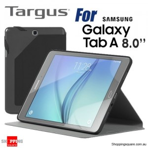 Targus Evervu Case For Samsung Galaxy Tab A 8.0 Inch Black Colour