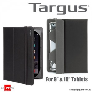 Targus Fit N' Grip Universal Case Black Colour for 9-10 Inch Tablets
