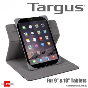 Targus Fit N' Grip Universal 360° Rotational Case Black Colour for 9-10 Inch Tablet