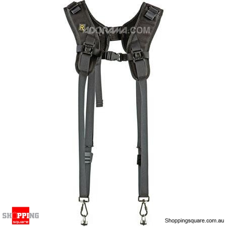 BlackRapid Double (DR-1) Double Camera Strap for Two Cameras