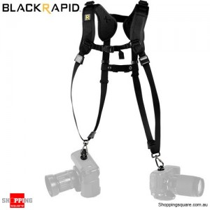 BlackRapid DOUBLE SLIM (DR-2) Double Strap for Two Cameras
