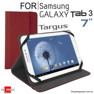 Targus Kickstand Case for Samsung Galaxy Tab 3 7-inch Red Colour