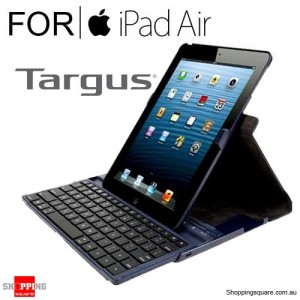 Targus Versavu Keyboard Case Midnight Blue Colour for Ipad Air