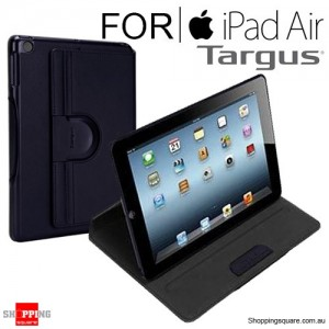 Targus Versavu Slim Rotating Stand Case Midnight Blue Colour for iPad Air