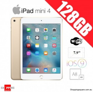 Apple iPad Mini 4 128GB WiFi Tablet PC Gold