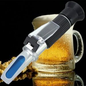 0-32% Brix Wort 1.12 Specific Gravity Refractometer Beer Fruit Sugar Wine Brew