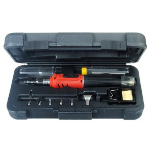 10 in 1 Gas Soldering Iron Cordless Welding Torch Tool Kit