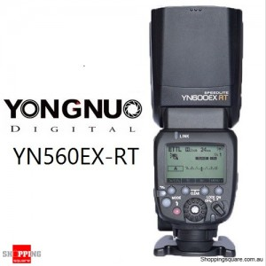 YONGNUO YN600EX-RT 2.4G Wireless HSS 1/8000s Flash Speedlite For Canon 6D 650D