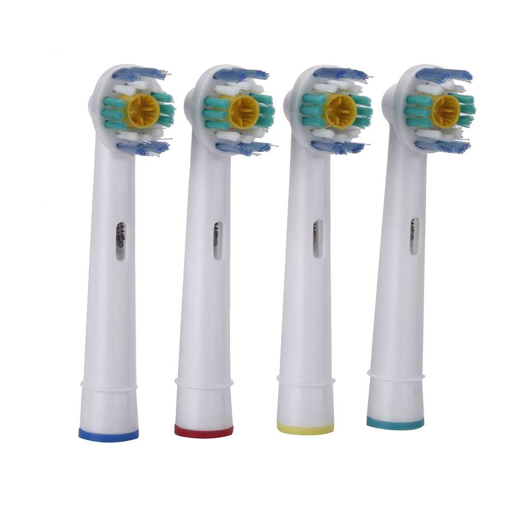 4 Pcs universal replacement electric toothbrush head for braun oral-b
