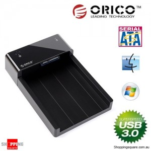 ORICO 6518US3 USB 3.0 SATA Hard Drive Horizontal Docking Station for 3.5 / 2.5 Inch HDD