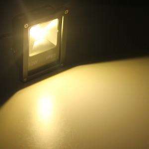 10W IP65 LED Flood Light Wash Outdoor AC85-265V Warm White Colour