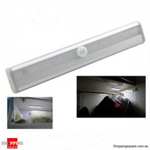 LED Light Motion Sensor Activated PIR for Cabinet Wardrobe Closet Cool White Colour
