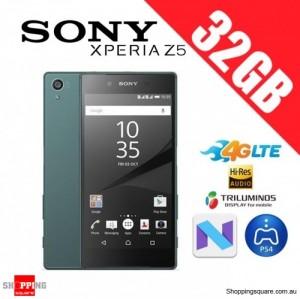 Sony Xperia Z5 32GB E6683 4G LTE Unlocked Smart Phone Green