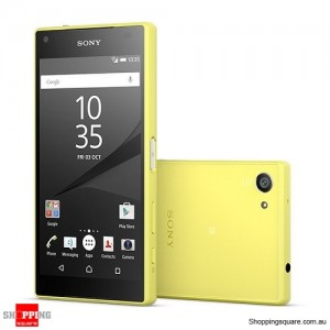 Sony Xperia Z5 Compact E5823 32GB 4G LTE Smart Phone Yellow
