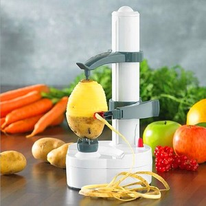 Electric Auto Rotating Potato Peeler Slicer for Pear Apple Fruit Vegetable Kitchen