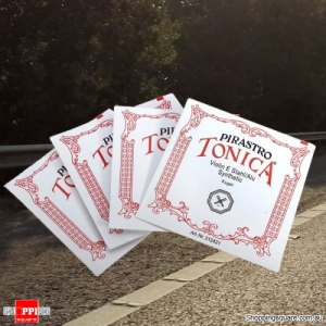 Pirastro Tonica Ball End Violin String A E D G Set